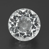 thumb image of 7.7ct Round Facet White Topaz (ID: 387642)