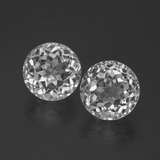 thumb image of 7.6ct Round Facet White Topaz (ID: 388894)