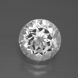 thumb image of 3.4ct Round Facet White Topaz (ID: 389541)