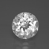 thumb image of 4.1ct Round Facet White Topaz (ID: 389544)