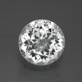 thumb image of 4.1ct Round Facet White Topaz (ID: 389545)
