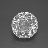 thumb image of 3.7ct Round Facet White Topaz (ID: 389551)