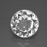 thumb image of 4ct Round Facet White Topaz (ID: 389552)