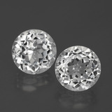 thumb image of 6.1ct Round Facet White Topaz (ID: 390773)