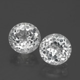thumb image of 2.6ct Round Facet Clear White Topaz (ID: 390775)