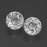 thumb image of 4.4ct Round Facet White Topaz (ID: 390868)