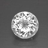 thumb image of 3.4ct Round Facet White Topaz (ID: 390940)