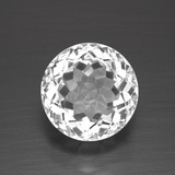 thumb image of 3.4ct Round Facet White Topaz (ID: 390941)