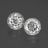 thumb image of 7.6ct Round Facet White Topaz (ID: 396466)