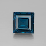 thumb image of 23.8ct Square Facet London Blue Topaz (ID: 396571)