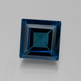 thumb image of 29.2ct Square Facet London Blue Topaz (ID: 396573)
