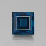 thumb image of 26.6ct Square Facet London Blue Topaz (ID: 396574)