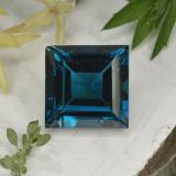 thumb image of 29.9ct Square Facet London Blue Topaz (ID: 396578)