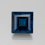 thumb image of 28.3ct Square Facet London Blue Topaz (ID: 396579)