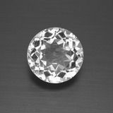 thumb image of 3.1ct Round Facet White Topaz (ID: 396599)
