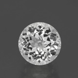 thumb image of 4.7ct Round Facet White Topaz (ID: 396803)
