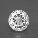 thumb image of 4.3ct Round Facet White Topaz (ID: 396865)