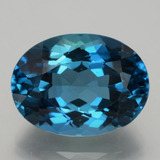 thumb image of 29.3ct Oval Facet London Blue Topaz (ID: 396971)