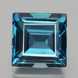 thumb image of 24ct Square Facet London Blue Topaz (ID: 396976)