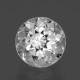 thumb image of 5ct Round Facet White Topaz (ID: 397060)