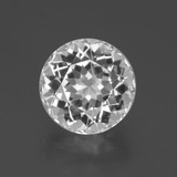 thumb image of 6.1ct Round Facet White Topaz (ID: 397100)