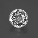 thumb image of 4.6ct Round Facet White Topaz (ID: 397108)
