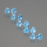 thumb image of 2.8ct Heart Facet Swiss Blue Topaz (ID: 399356)