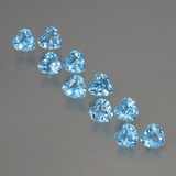 thumb image of 2.9ct Heart Facet Swiss Blue Topaz (ID: 399364)