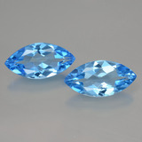 thumb image of 8.1ct Marquise Facet Swiss Blue Topaz (ID: 399379)