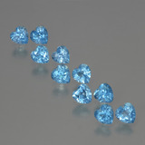 thumb image of 3.4ct Heart Facet Swiss Blue Topaz (ID: 399418)
