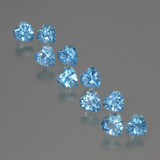 thumb image of 3.4ct Heart Facet Swiss Blue Topaz (ID: 399419)