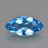 thumb image of 3.8ct Marquise Facet Swiss Blue Topaz (ID: 399461)