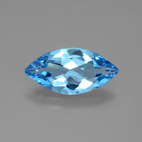thumb image of 3.9ct Marquise Facet Swiss Blue Topaz (ID: 399519)