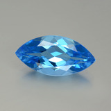thumb image of 4.7ct Marquise Facet Swiss Blue Topaz (ID: 399566)