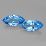 thumb image of 8.2ct Marquise Facet Swiss Blue Topaz (ID: 399612)