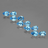 thumb image of 4.9ct Pear Facet Swiss Blue Topaz (ID: 399673)