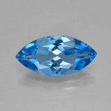 thumb image of 4.5ct Marquise Facet Swiss Blue Topaz (ID: 399693)