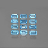 thumb image of 4.1ct Octagon Facet Swiss Blue Topaz (ID: 399808)