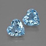 thumb image of 5.8ct Heart Facet Swiss Blue Topaz (ID: 400824)