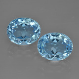 thumb image of 7.1ct Oval Facet Swiss Blue Topaz (ID: 401568)
