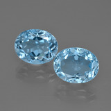 thumb image of 6.9ct Oval Facet Swiss Blue Topaz (ID: 401638)