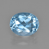 thumb image of 3.6ct Oval Facet Swiss Blue Topaz (ID: 401677)