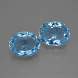thumb image of 7ct Oval Facet Swiss Blue Topaz (ID: 401735)