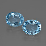 thumb image of 7.1ct Oval Facet Swiss Blue Topaz (ID: 401736)