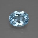 thumb image of 3.2ct Oval Facet Swiss Blue Topaz (ID: 401779)