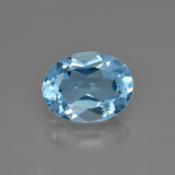 thumb image of 2.9ct Oval Facet Swiss Blue Topaz (ID: 401780)