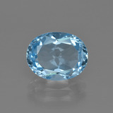 thumb image of 3.4ct Oval Facet Swiss Blue Topaz (ID: 401788)