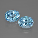 thumb image of 3.6ct Oval Facet Swiss Blue Topaz (ID: 401836)