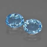 thumb image of 3.1ct Oval Facet Swiss Blue Topaz (ID: 401949)