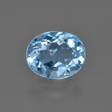 thumb image of 3.3ct Oval Facet Swiss Blue Topaz (ID: 401951)